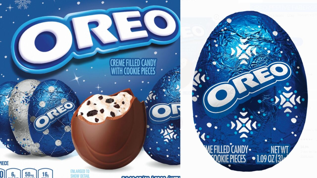 Oreo releases creme-filled eggs just in time for the holidays