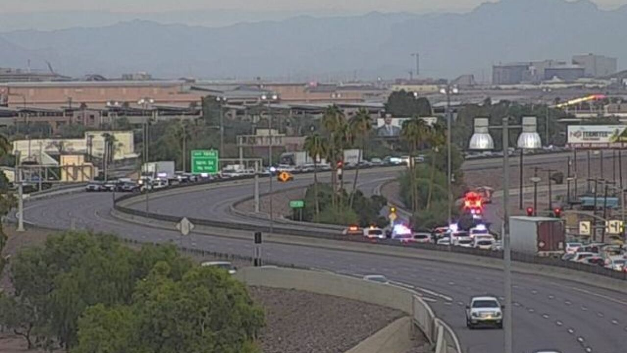 DPS: Pursuit shuts down I-17 at 7th Street
