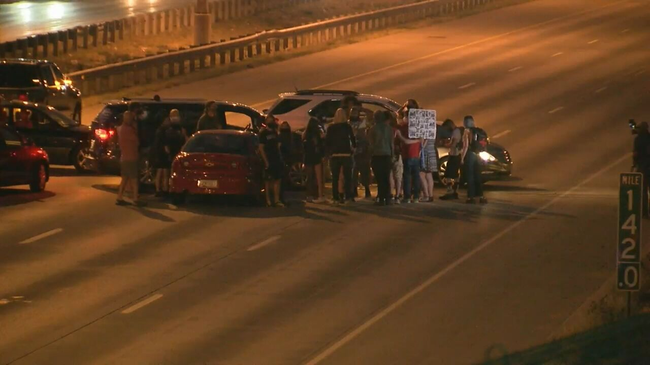 Unconstitutional & vague: Case dismissed for protester who blocked I-25