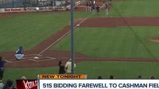 Las Vegas baseball fans saying goodbye to Cashman Field
