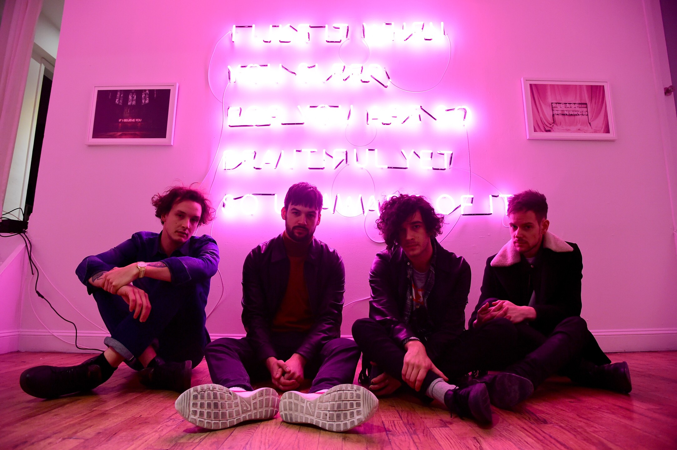 """The 1975 Album Release Pop-Up For """"I Like It When You Sleep, For You Are So Beautiful Yet So Unaware Of It"""""""