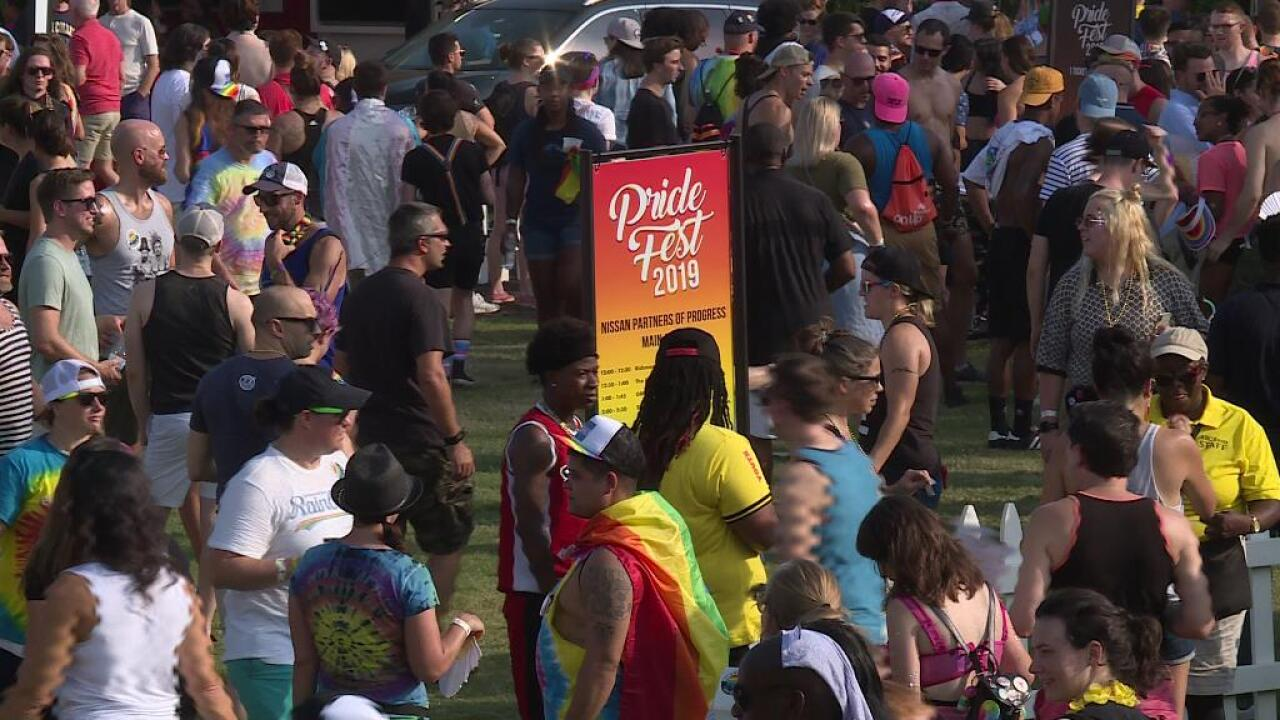 Thousands attend VA PrideFest on Brown's Island: 'It is OK to be who you are'