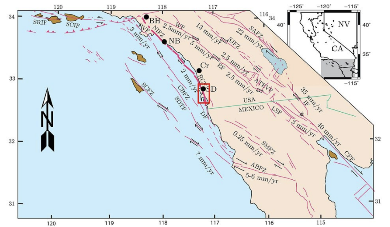 San Diego Fault Lines