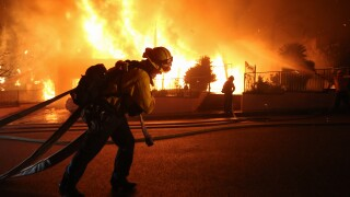 Saddleridge Fire Scorches 4000 Acres In LA County, Thousands Evacuated