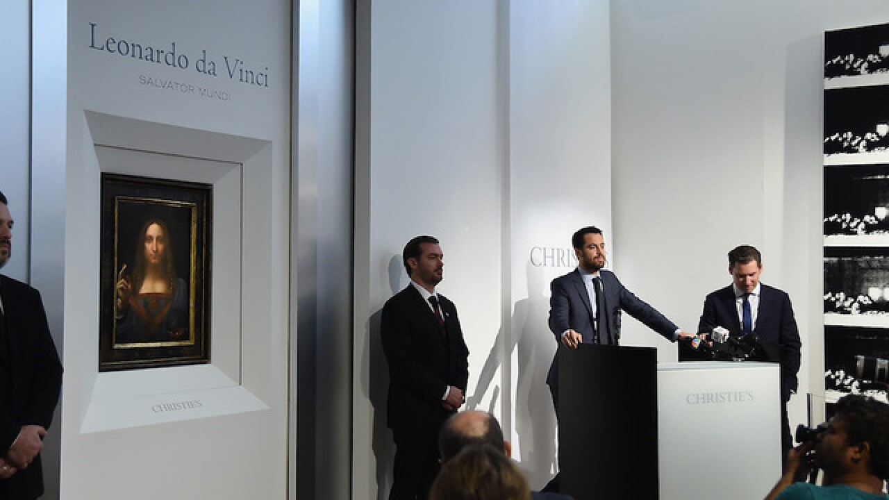 Rare Leonardo da Vinci painting could sell for over $100 million in New York auction