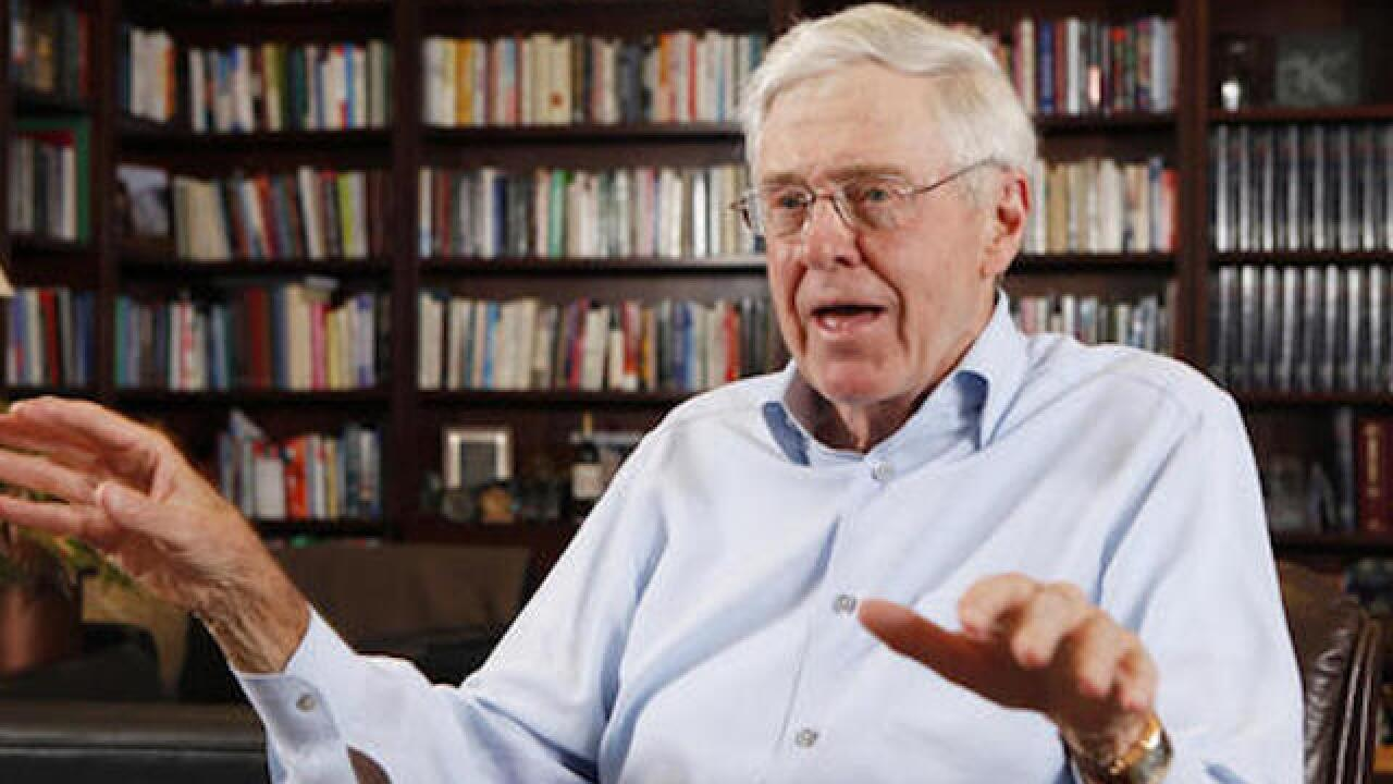 Koch-backed group targets Dems in 3 Senate races