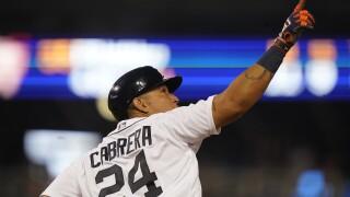Miguel Cabrera 497th HR Orioles Tigers Baseball