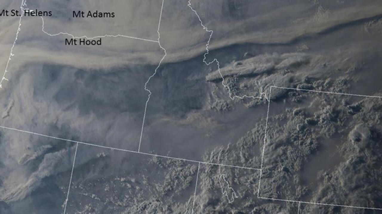 Smoke from wildfires hanging over western Colorado