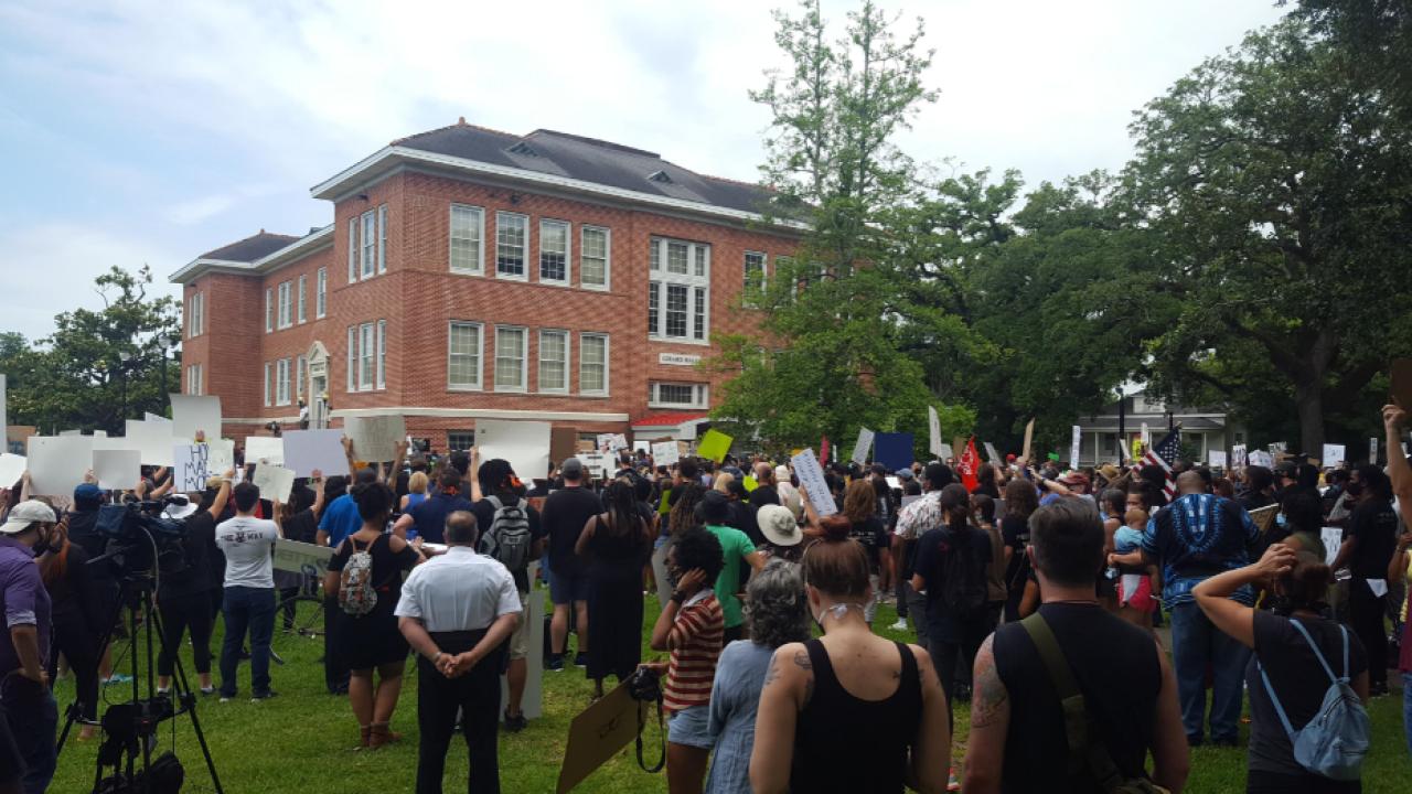 Lafayette Protest 1