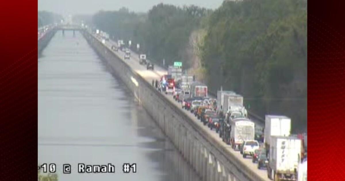 State Police identify highway worker killed in I-10 crash