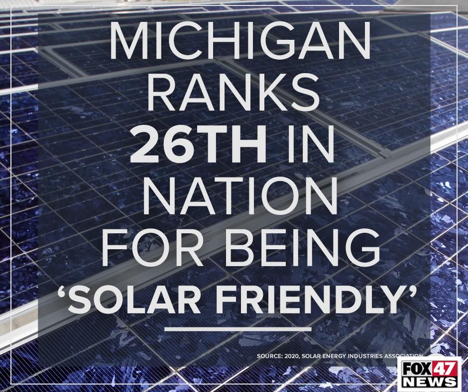 Michigan Solar Friendly