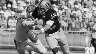 Raiders Broncos 1976 randy gradishar ken stabler