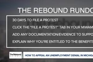 How to appeal an unemployment denial in Michigan