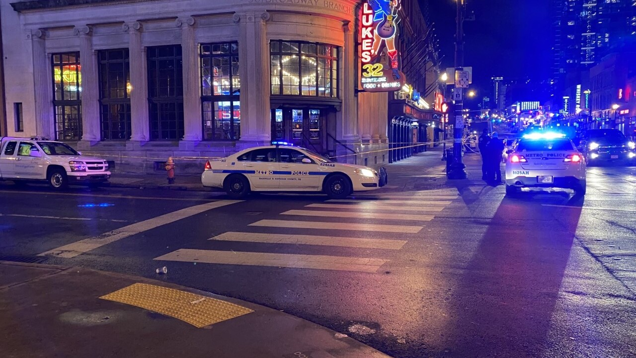 Man stabbed outside Broadway bar