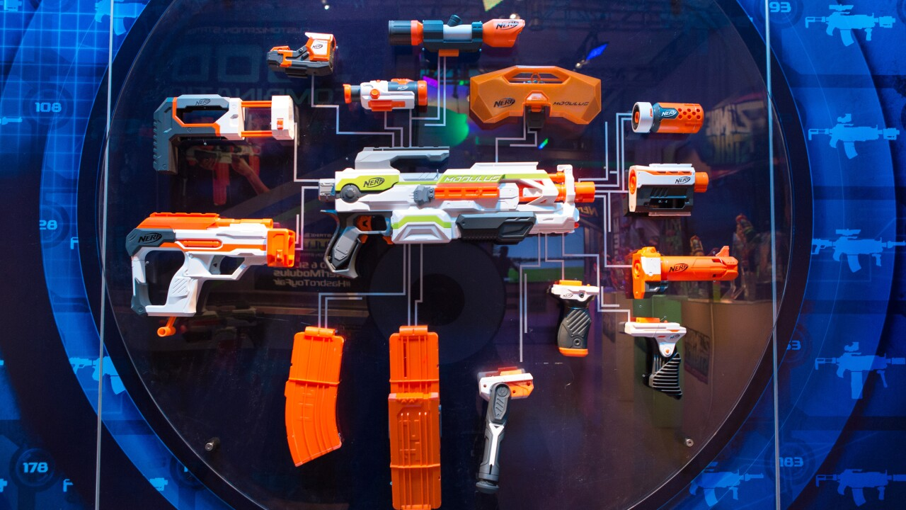 Man with over 150 world records sets record for hitting most Nerf gun targets