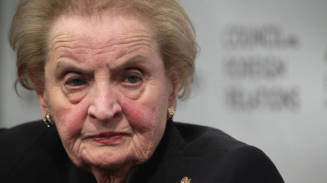 Albright to speak at Syracuse University