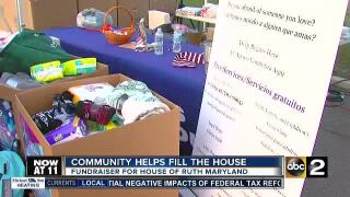 Community helps ABC2 fill the House of Ruth