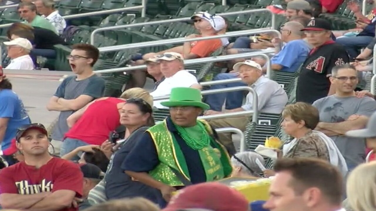 Meet Terry: The Spring Training Beer Man