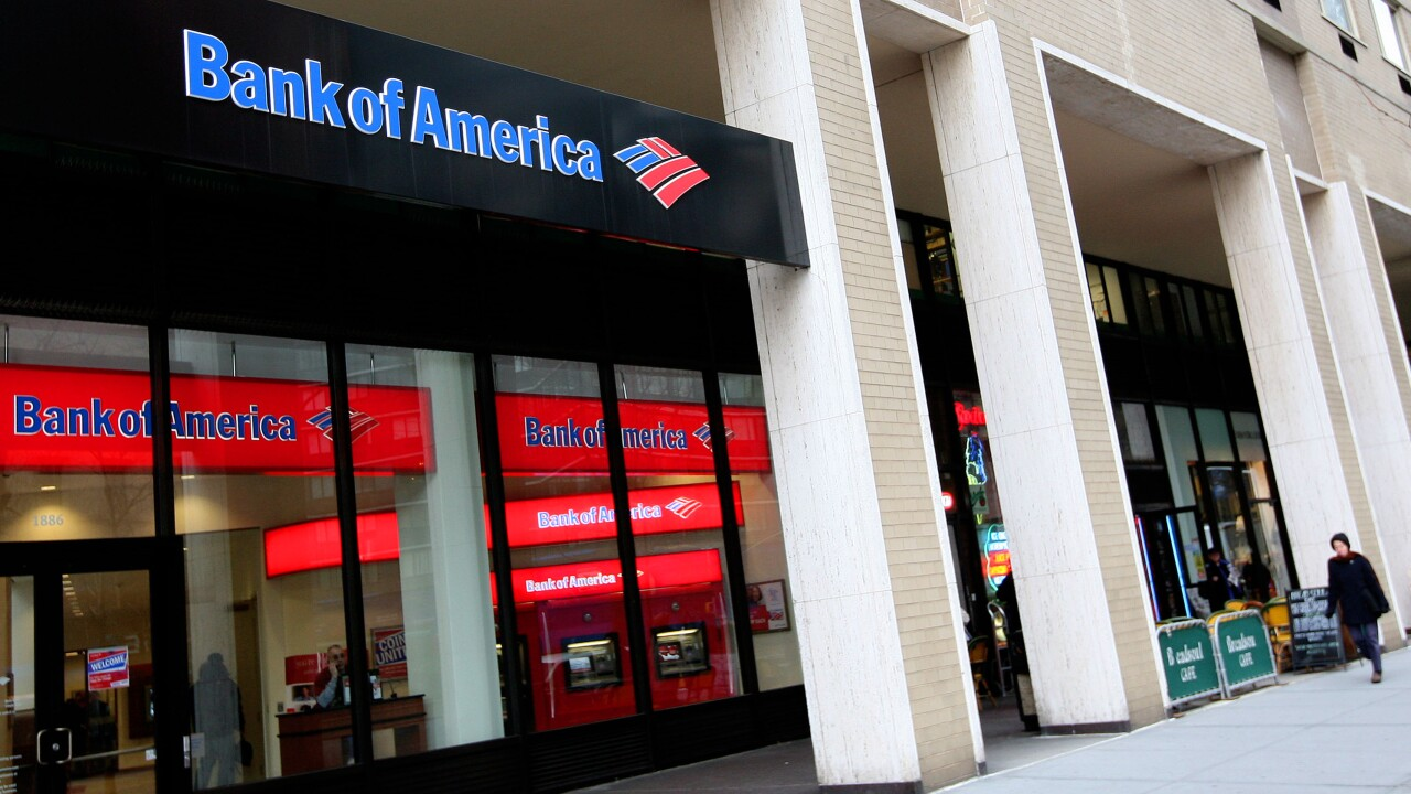 Bank Of America Reports Massive Fourth Quarter Income Drop
