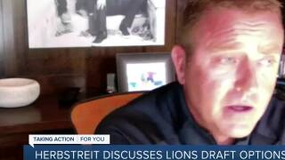 Herbstreit discusses Lions draft options