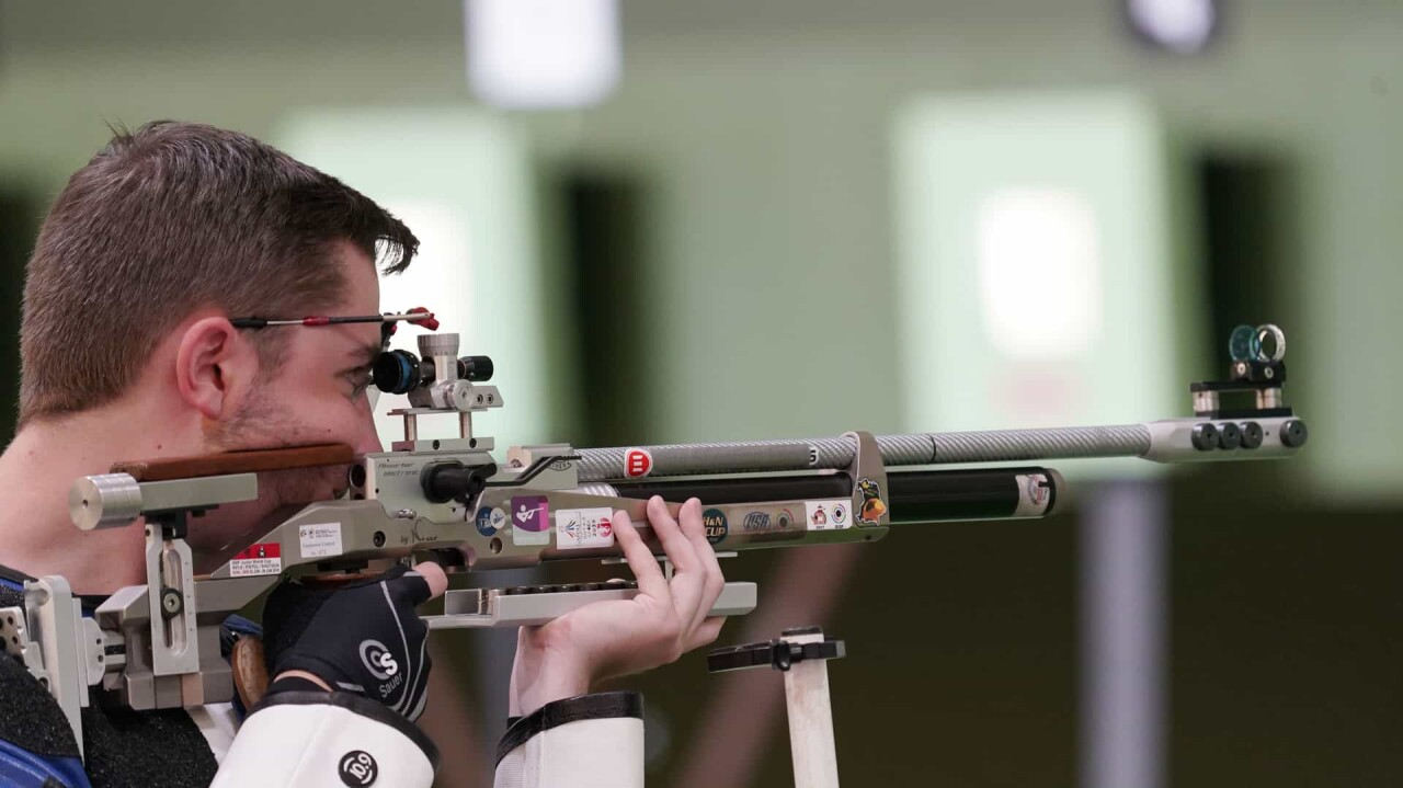 Young U.S. shooter Will Shaner takes air rifle gold