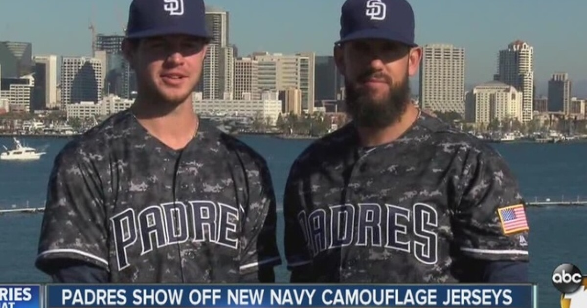 0c0c63ae951 Padres to wear new uniforms for 2016 season