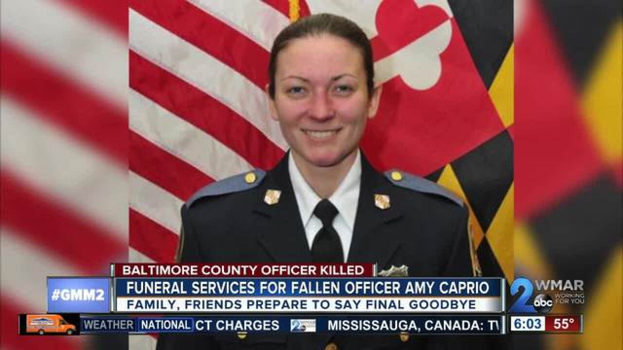 Funeral for Officer First Class Amy Caprio