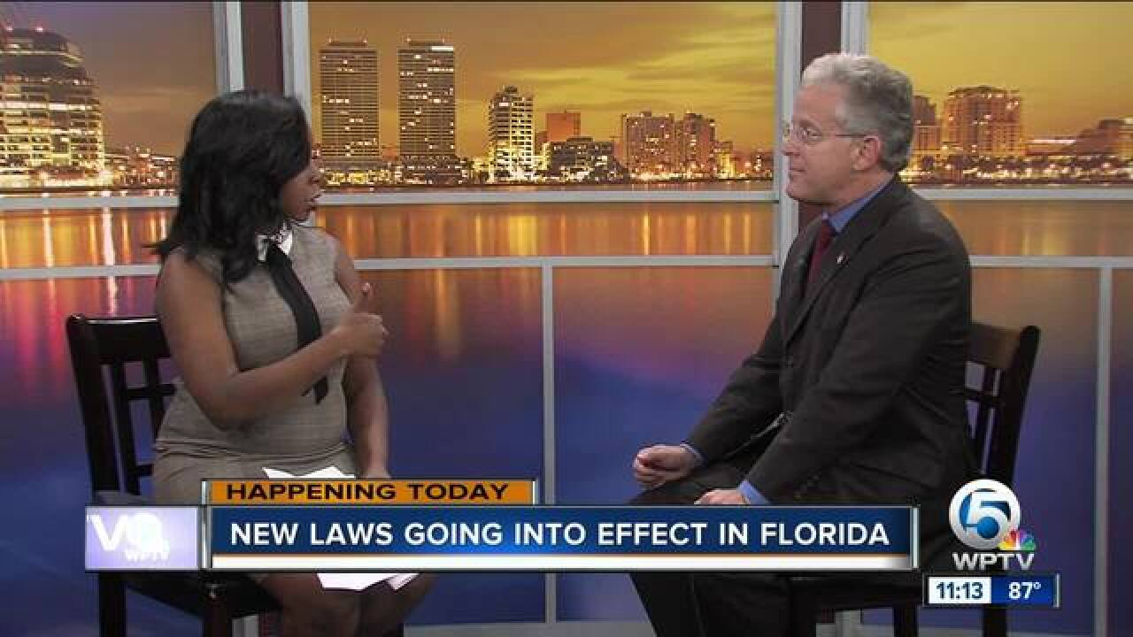 New laws go into effect in Florida on Oct. 1