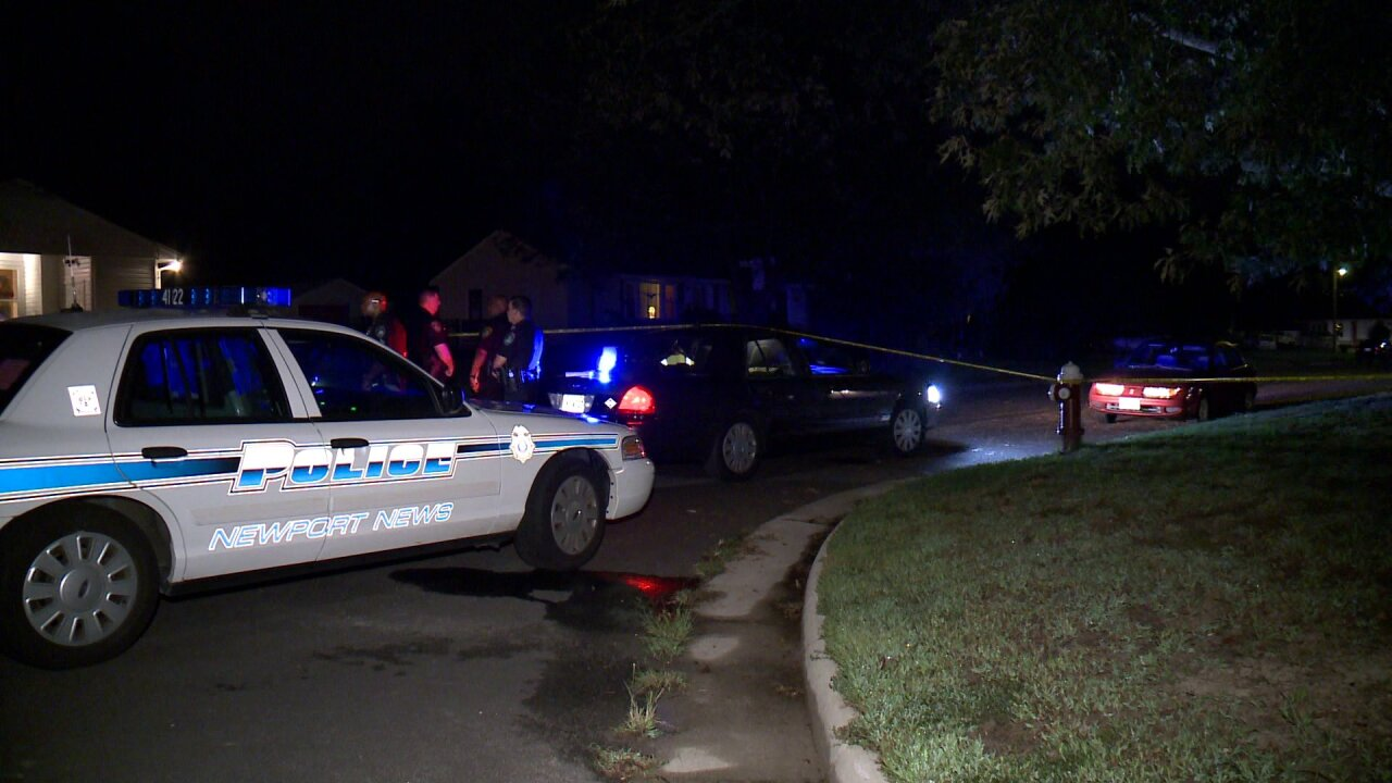 Man killed, woman injured in shooting at Newport News house party