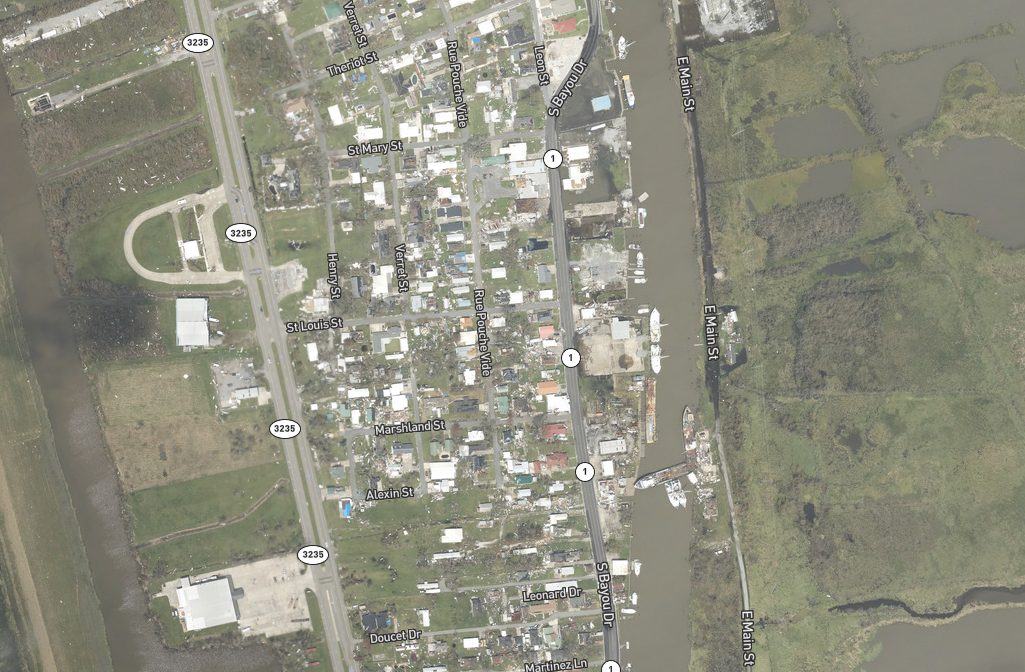 Snapshot Golden Meadow NOAA map.PNG