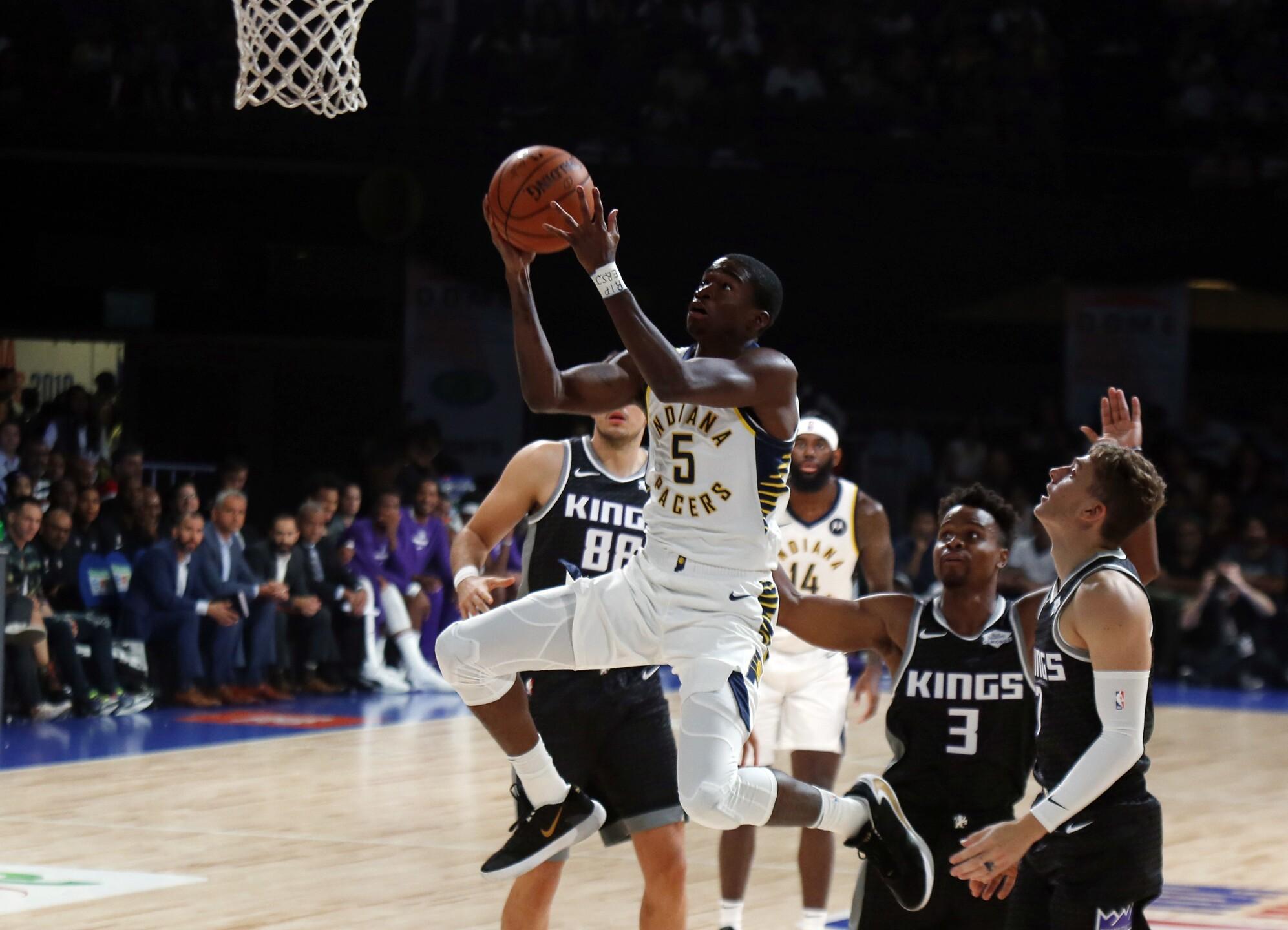 India NBA Basketball