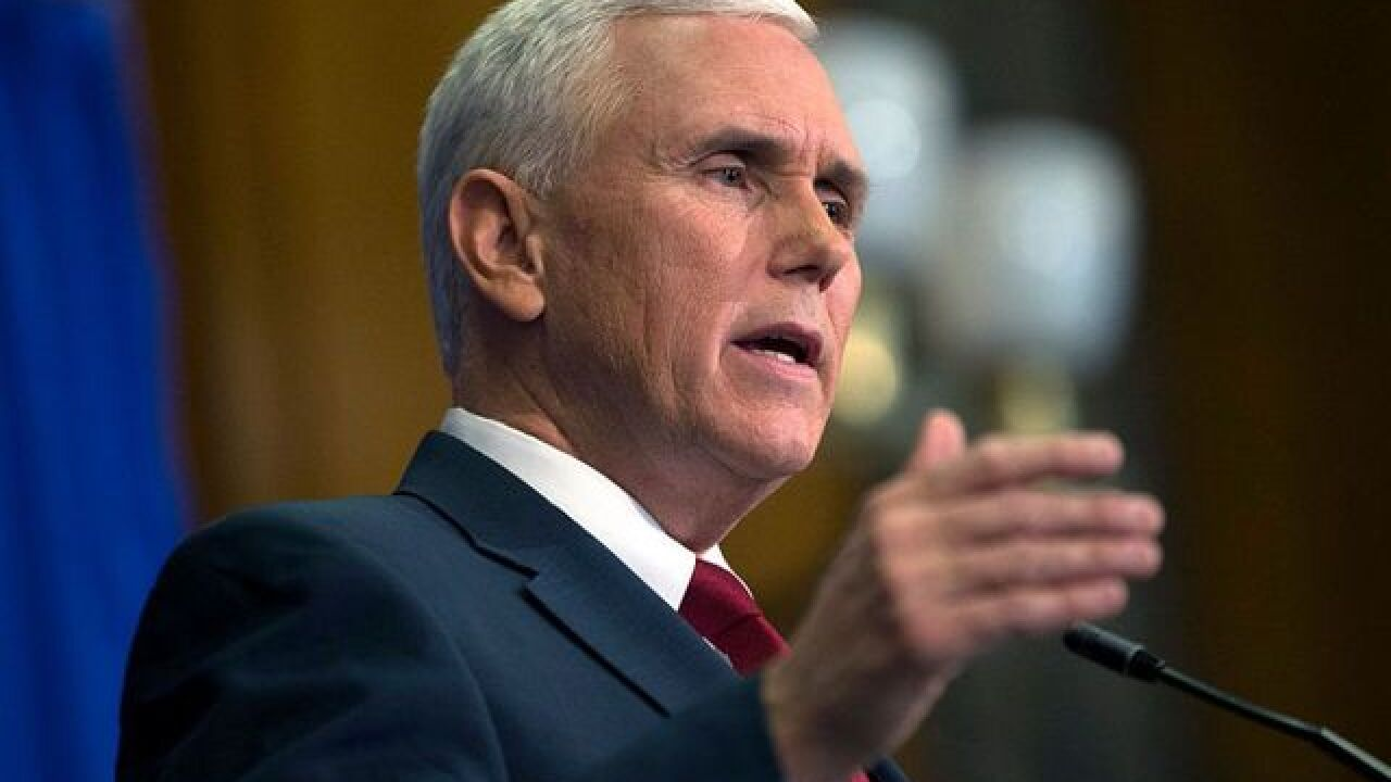 Vegas: Bet on Pence, Kaine as VP picks