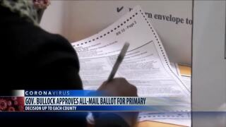 All-mail ballot for June primary in Cascade County