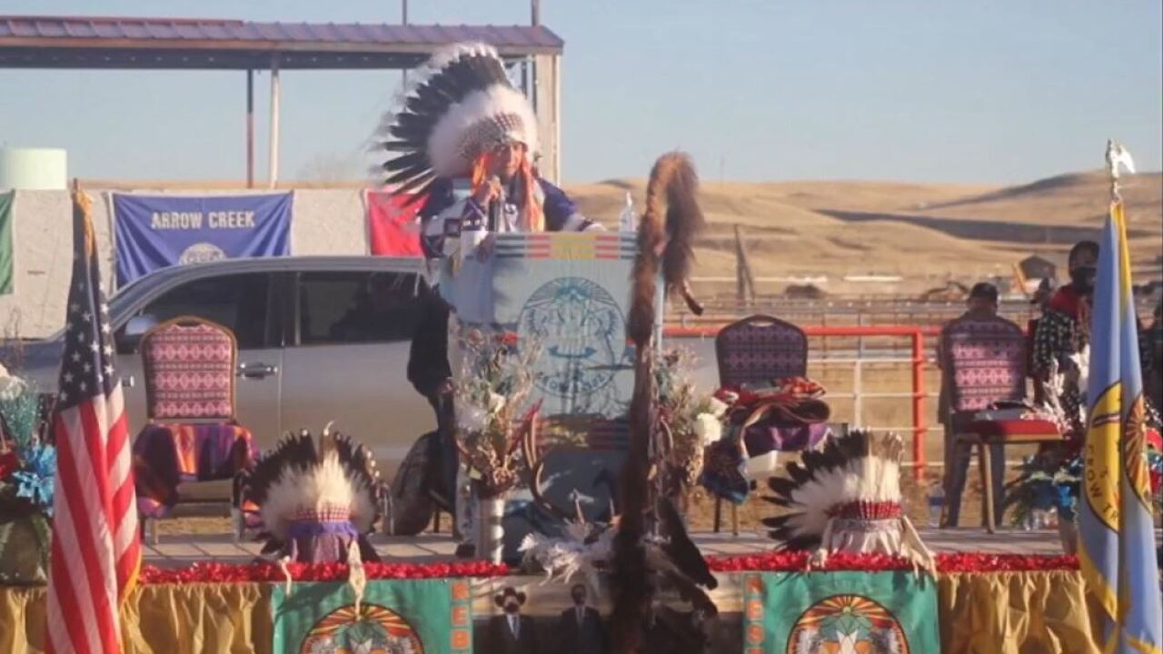 New Crow tribal leaders inaugurated