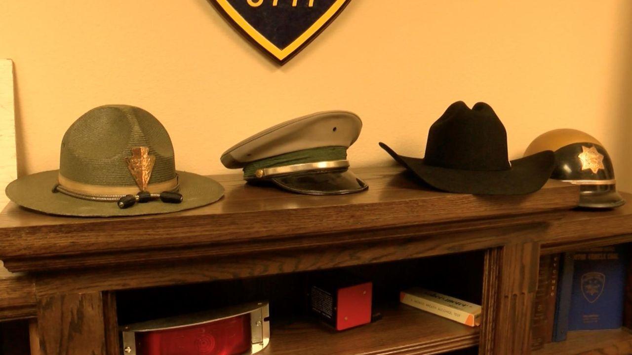Montana Highway Patrol hats