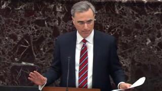 Trump defense team to deliver opening remarks in Senate impeachment trial Saturday