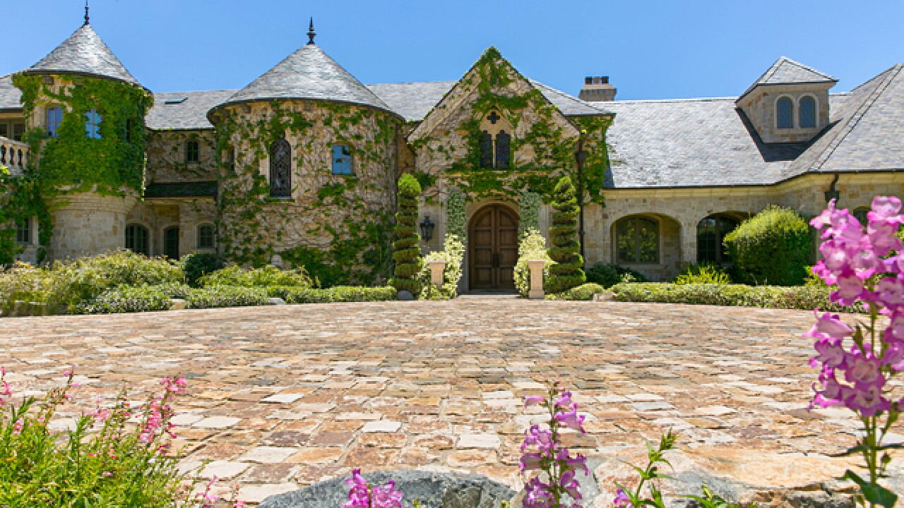 Live like a king at this Rancho Santa Fe castle for sale at auction