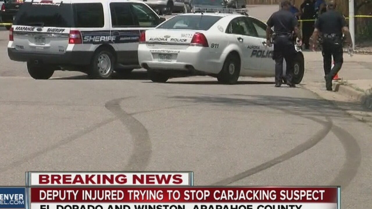 PD: Carjacking, officer-involved shooting