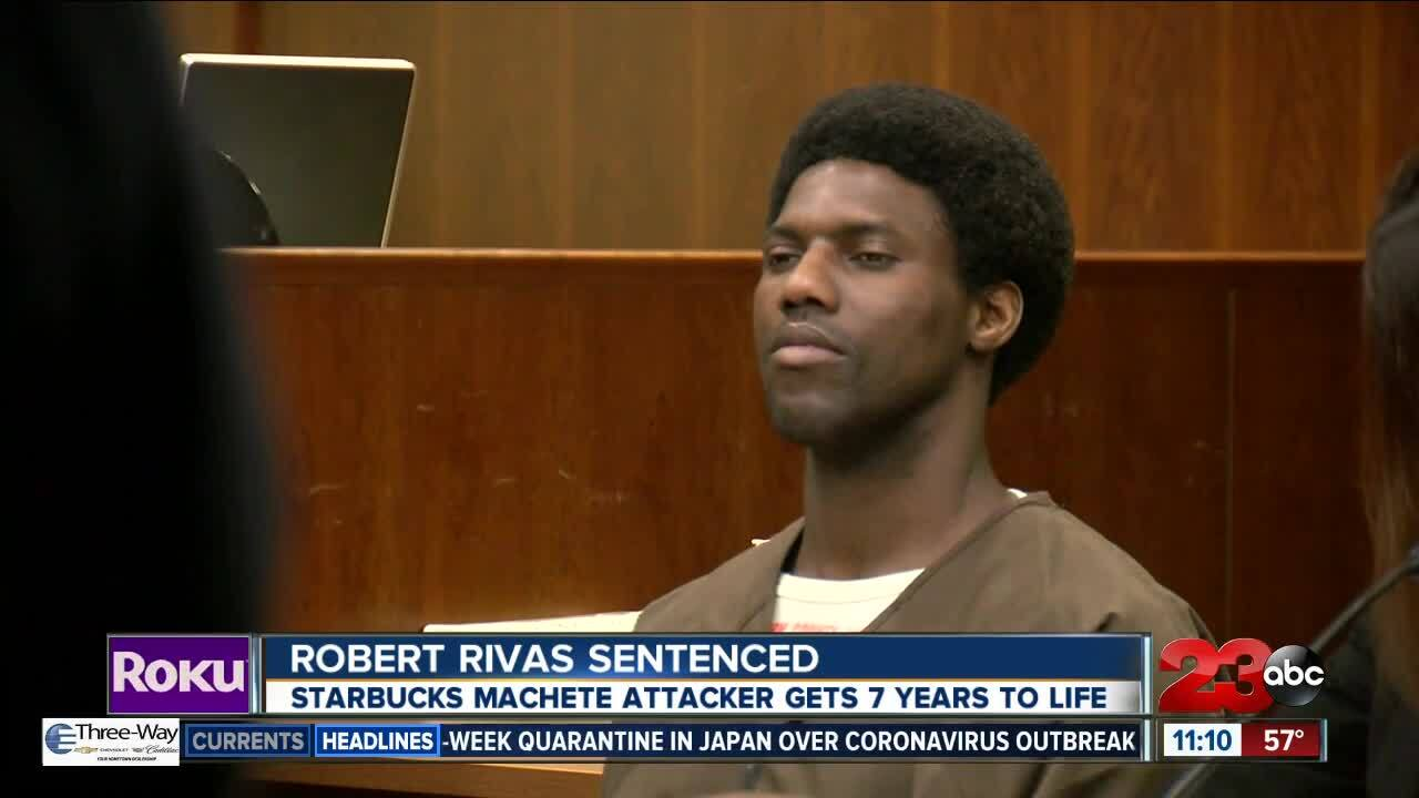 Robert Rivas Sentenced