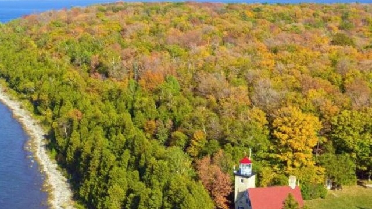 Door County nominated for best fall foliage