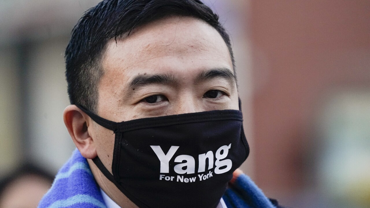NYC Mayor's Race Yang