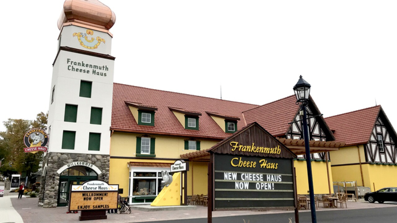 New, expanded Frankenmuth Cheese Haus will welcome guests on Nov. 1