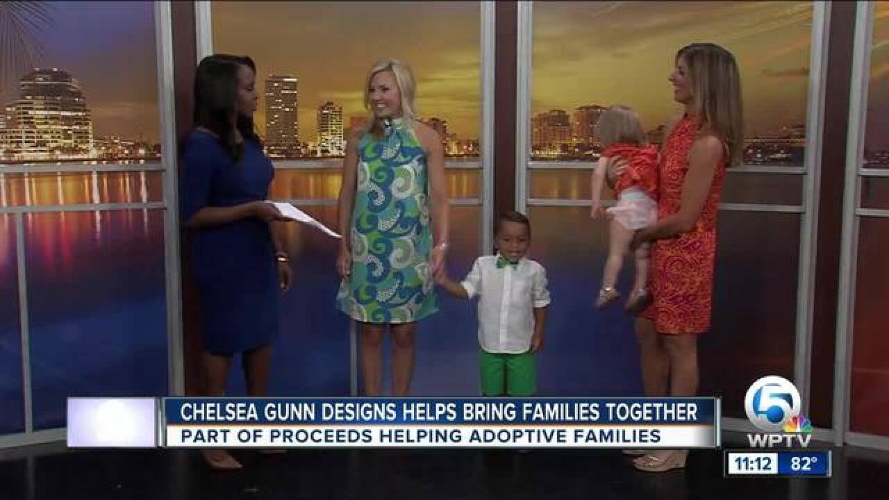 Chelsea Gunn Designs helps bring families together