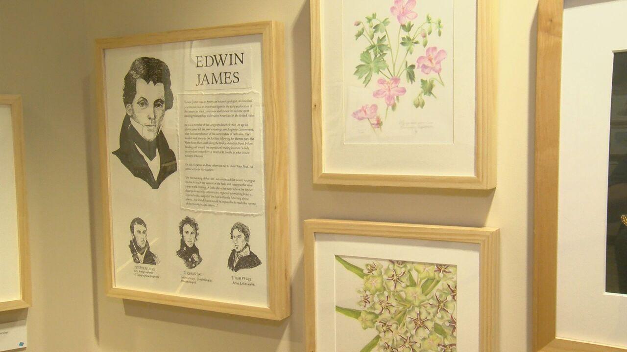 Free art exhibit honors scientist who discovered new plant species