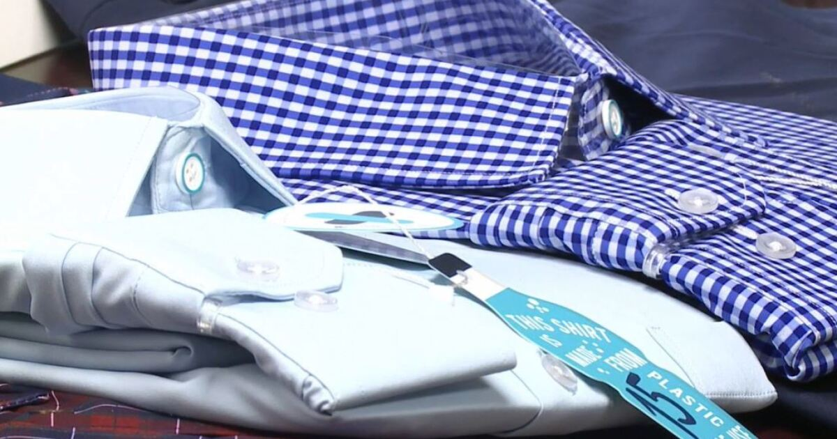 Utah company reduces plastic waste with sustainably-made dress shirts