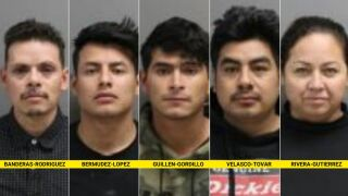 Five Mexican citizens arrested in Glacier County