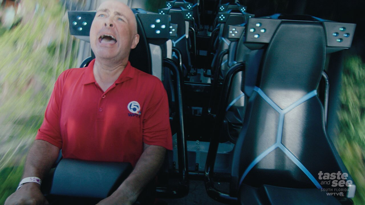 Thursday morning Universal Studios in Orlando will open 'Jurassic World VelociCoaster' to the public.  They have been letting some guests ride during a technical run.
