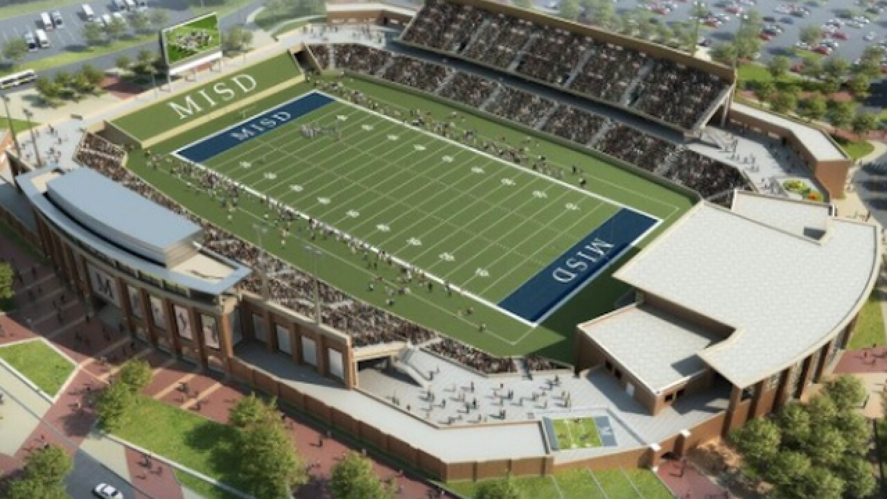 Extravagant high school stadium to cost $63M