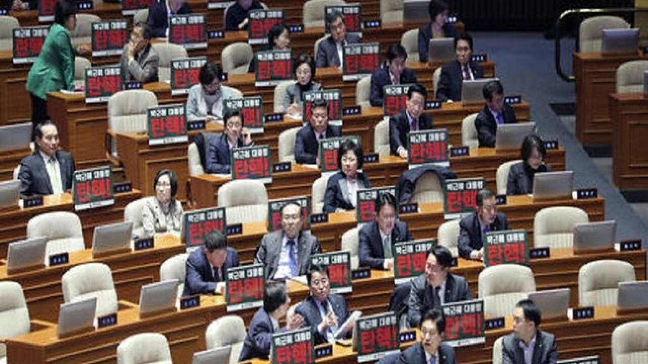 S. Korea's parliament sets up presidential impeachment vote