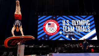 Brody Malone leads men's field after Day 1 at U.S. Olympic Gymnastics Trials